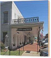 The Historic Excelsior Hotel Jefferson Texas Wood Print