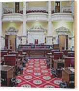 The Historic House Chamber Of Maryland Wood Print