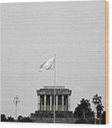 The Ho Chi Minh Mausoleum Wood Print