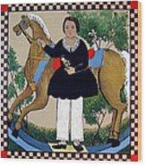 The Hobby Horse Wood Print