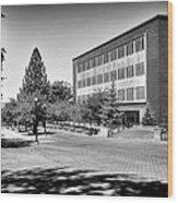 The Holland Library - Pullman Washington Wood Print