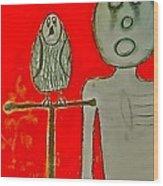 The Hollow Men 88 - Bird Wood Print