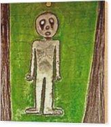 The Hollow Men 88 - Lone Idea Wood Print