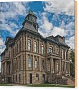 The Holmes County Courthouse Wood Print