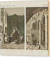 The Holy Sepulcher Of Jerusalem Wood Print by Splendid Art Prints