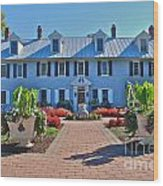 The Homestead Birthplace Of Milton Hershey Wood Print