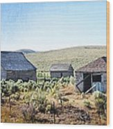 The Homestead Wood Print