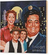 The Honeymooners Wood Print
