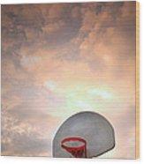 The Hoop Wood Print