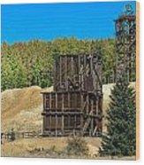 The Hoosier Mine Wood Print