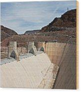 The Hoover Dam Wood Print