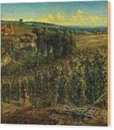 The Hop-gardens Of England Wood Print