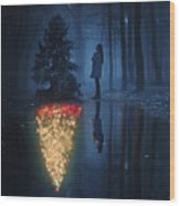 The Hope Of Christmas Wood Print
