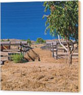 The Horse Ranch Wood Print