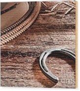 The Horseshoe Wood Print