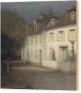The House Wood Print