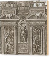The House Of Sleep, 1731 Wood Print