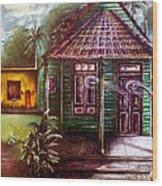 The House Of Spirits Wood Print