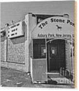 The House That Bruce Built II - The Stone Pony Wood Print