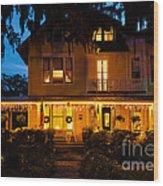 The Hoyt House Wood Print