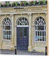The Huntsman Pub In Bath 8456 Wood Print