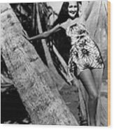 The Hurricane, Dorothy Lamour, 1937 Wood Print