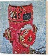 The Hydrant Wood Print