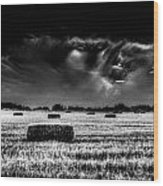 The Impending Storm Wood Print