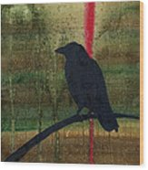 The Impossibility Of Crows Wood Print