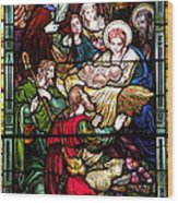 The Incarnation - Madonna And Child Wood Print