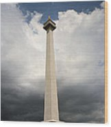 The Independence Monument Wood Print