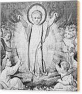 The Infant Jesus Wood Print