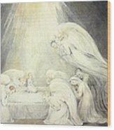 The Infant Jesus Saying His Prayers Wood Print