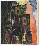 The Inferno Wood Print