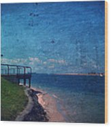 The Inlet Wood Print