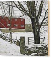The Inn Wood Print