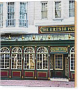 The Irish Pub - Philadelphia Wood Print