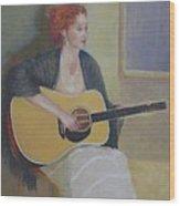 The Irish Singer    Copyrighted Wood Print