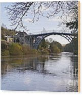 The Iron Bridge 2 Wood Print