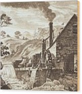 The Iron Forge Between Dolgelli Wood Print