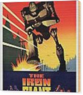 The Iron Giant 1999 Wood Print