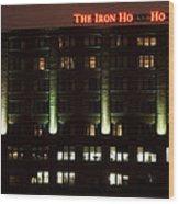 The Iron Horse Hotel Wood Print