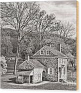 The Isaac Potts House Wood Print by Olivier Le Queinec