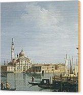The Island Of San Giorgio Maggiore Wood Print