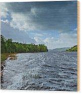 The Isle Of Inishfree...i Will Arise Wood Print