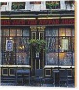 The Jack The Ripper Pub Wood Print