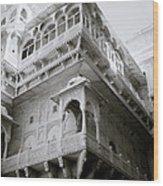 The Jaisalmer City Palace Wood Print