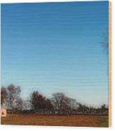 The Jamestown Windmill Wood Print