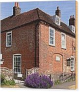 The Jane Austen Home Chawton England Wood Print