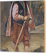 The Jester Named Don John Of Austria Wood Print